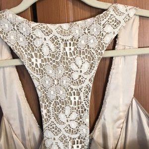 Molly New York Dresses - Anthropologie racer back lace detail dress